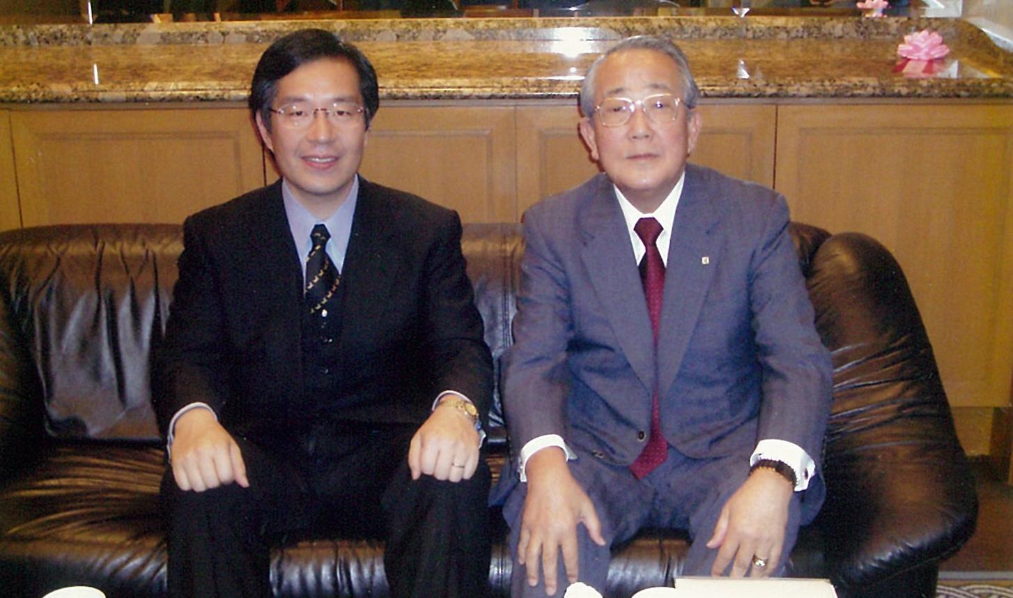稲盛和夫名誉会長と